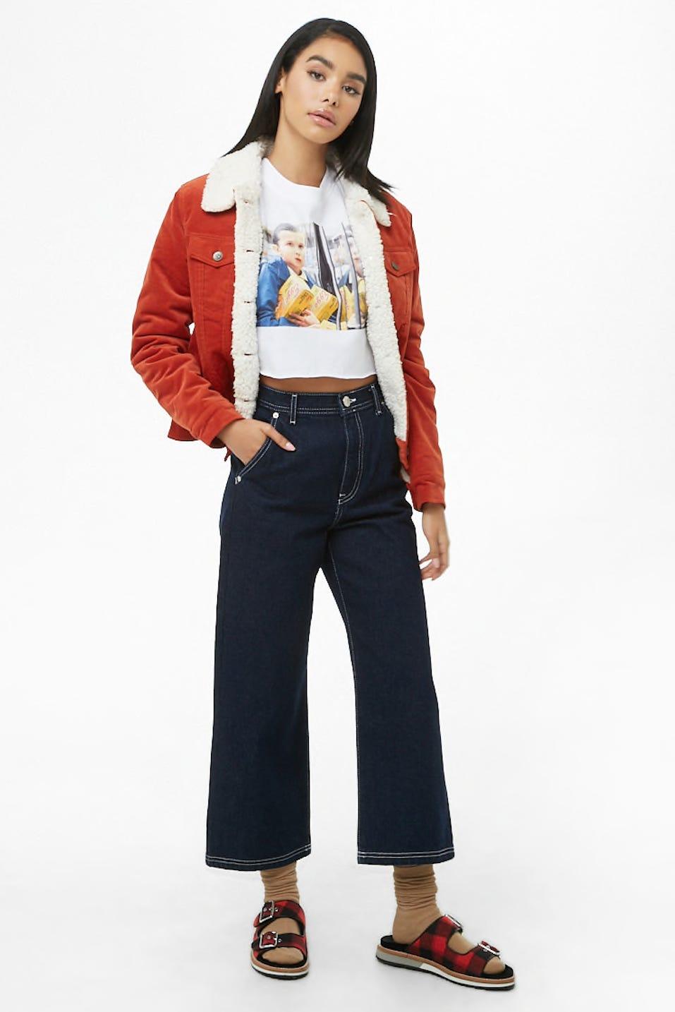 3b10faed Best Stranger Things Merchandise: Nike, H&M, & More