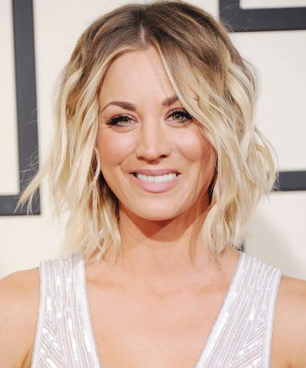 Kaley Cuoco Blonde Hair Big Bang Theory New Season
