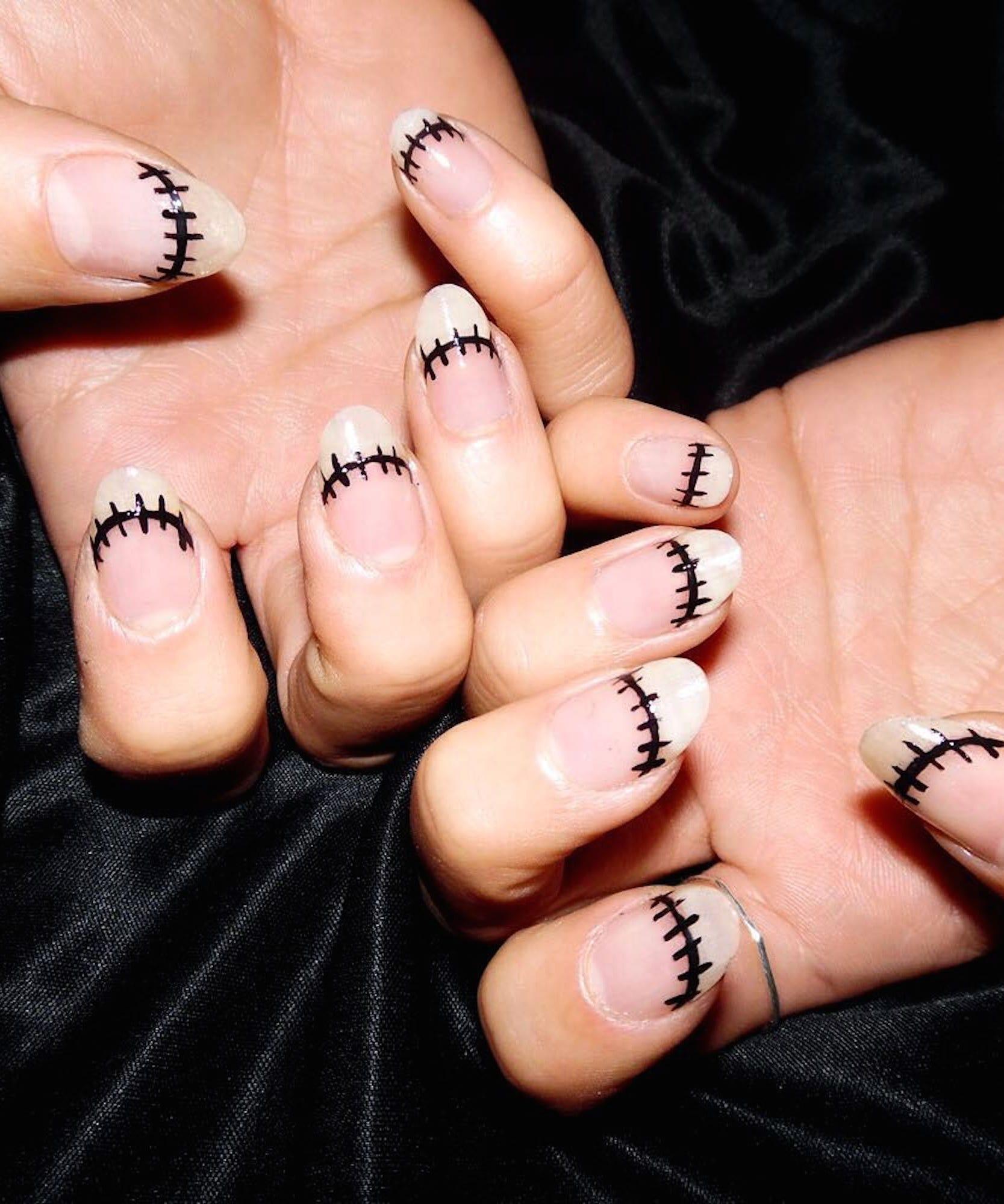 Wire Nails Nailart Instagram Trend