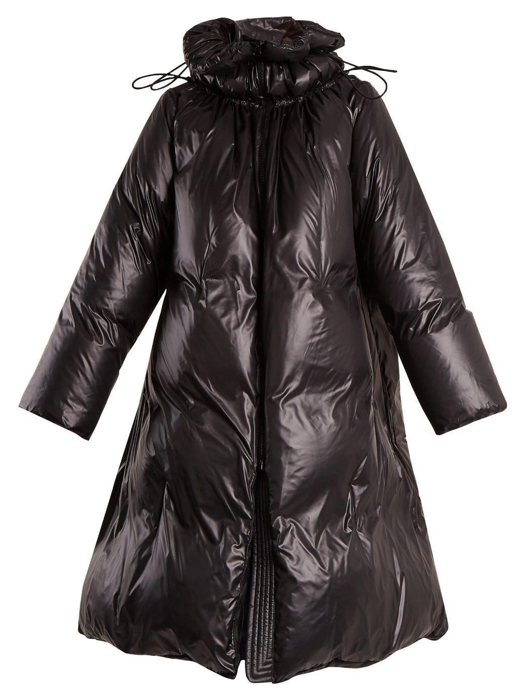 58b9ccf29 Oversized Padded Nylon Coat