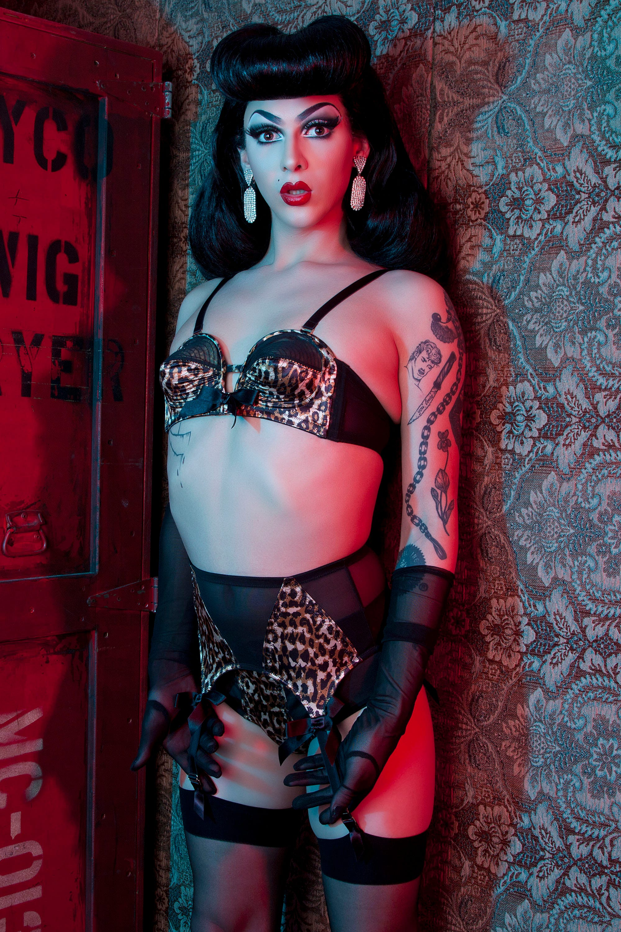 0171fffc5 Violet Chachki Becomes The First Drag Queen To Front A Lingerie Campaign