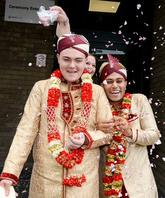 First gay muslim wedding ceremony darlaston walsall uk junglespirit Image collections