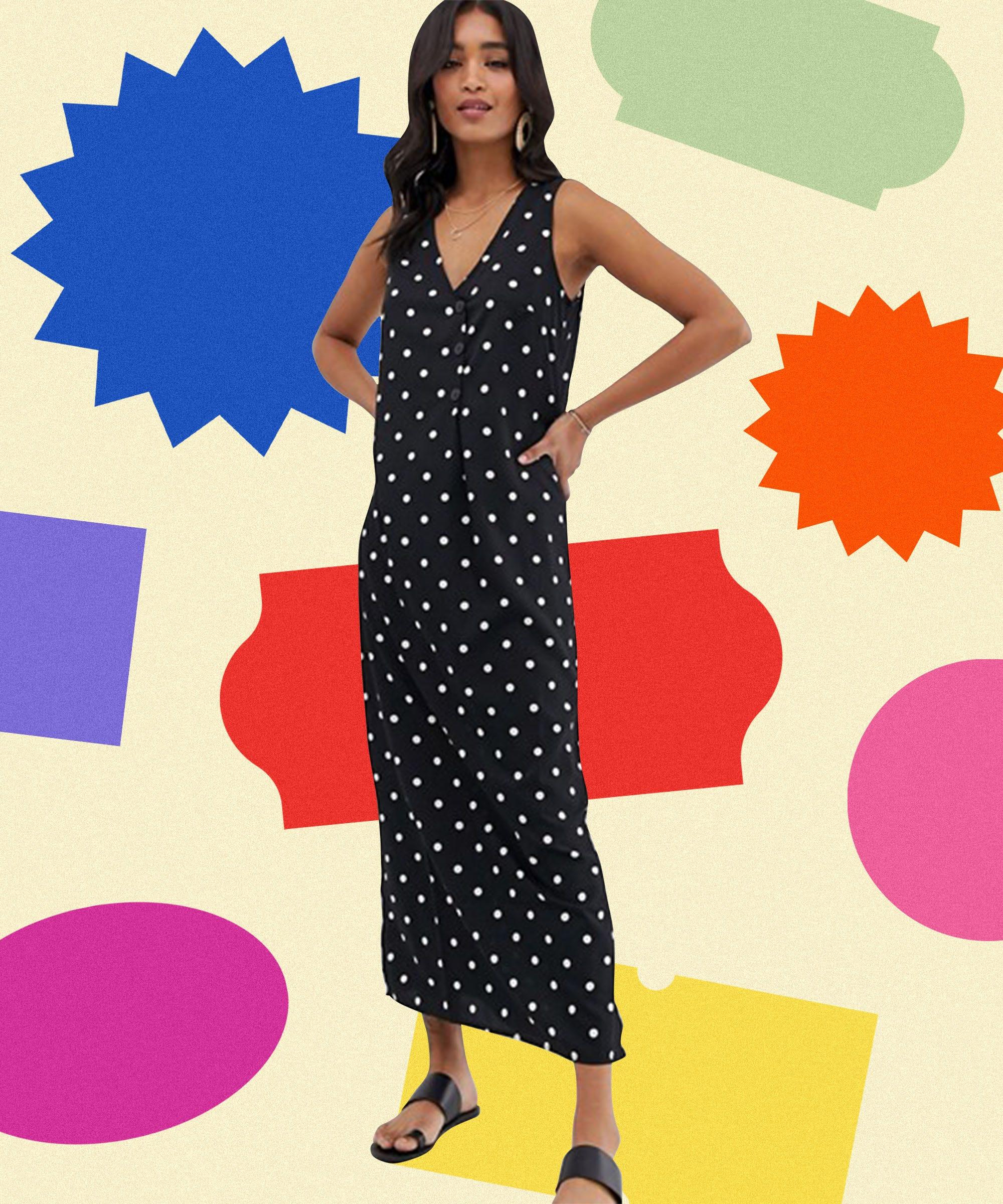 7b3249a5 The Best Zara Polka-Dot Dress Alternatives On Sale Now