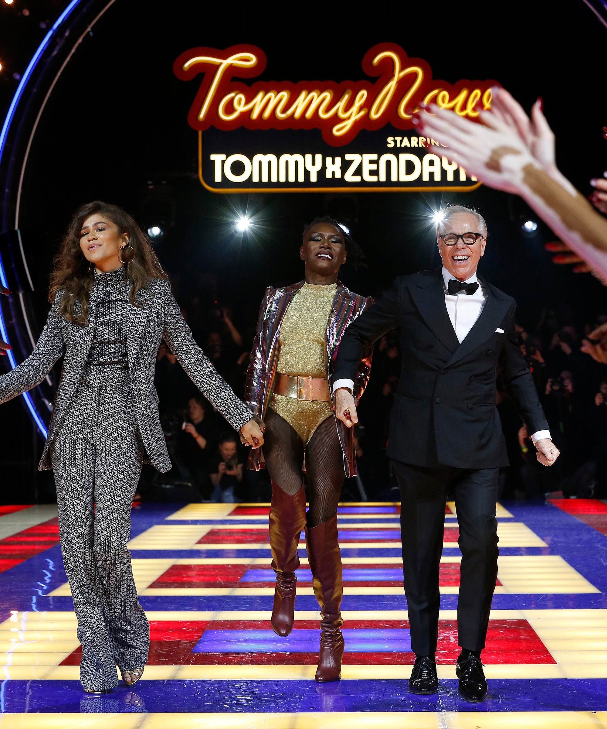 a4ba7df57e0 Zendaya Debuts Tommy Hilfiger Collection At PFW