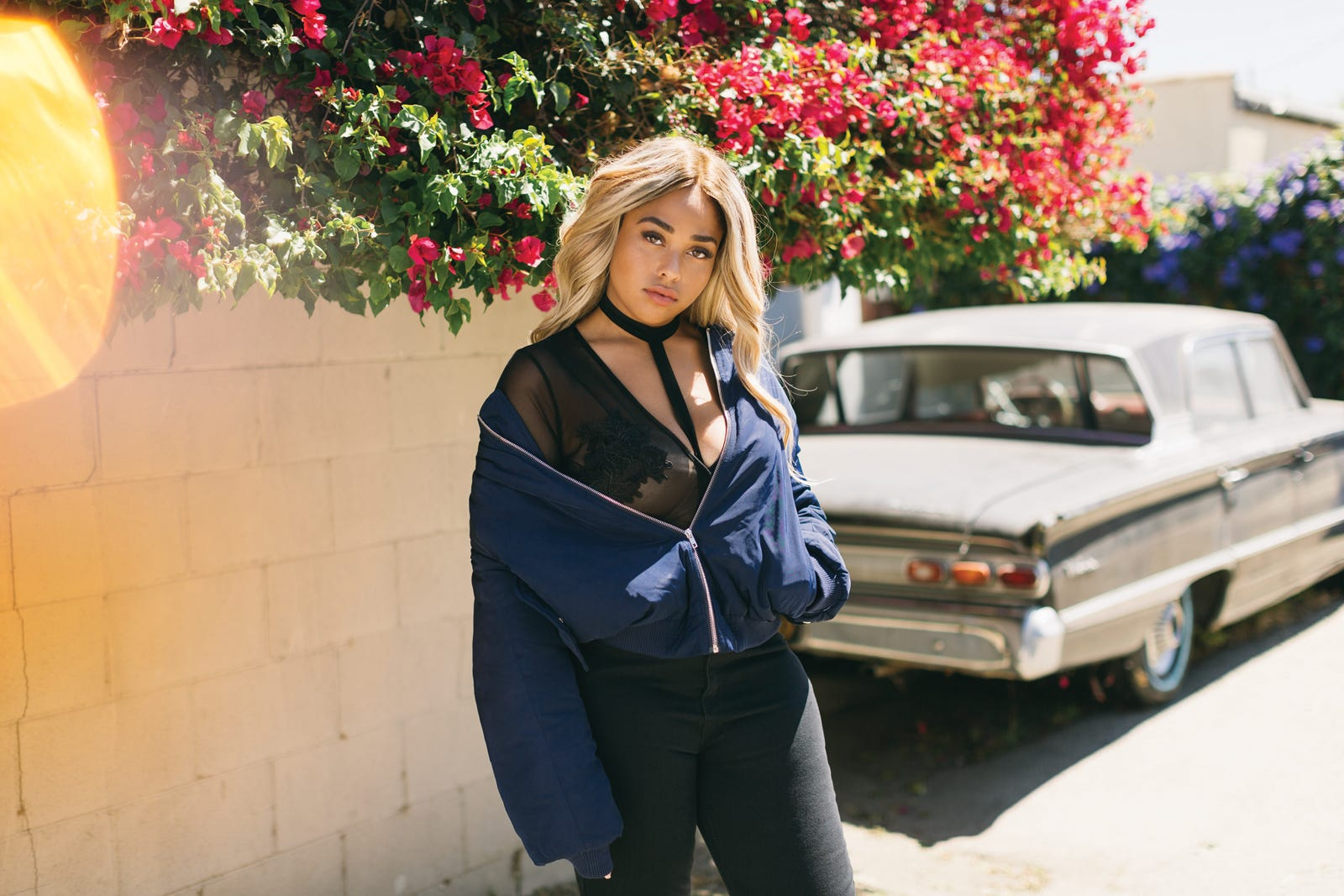 50629018c0d5 Jordyn Woods Boohoo New Clothing Collection Photos