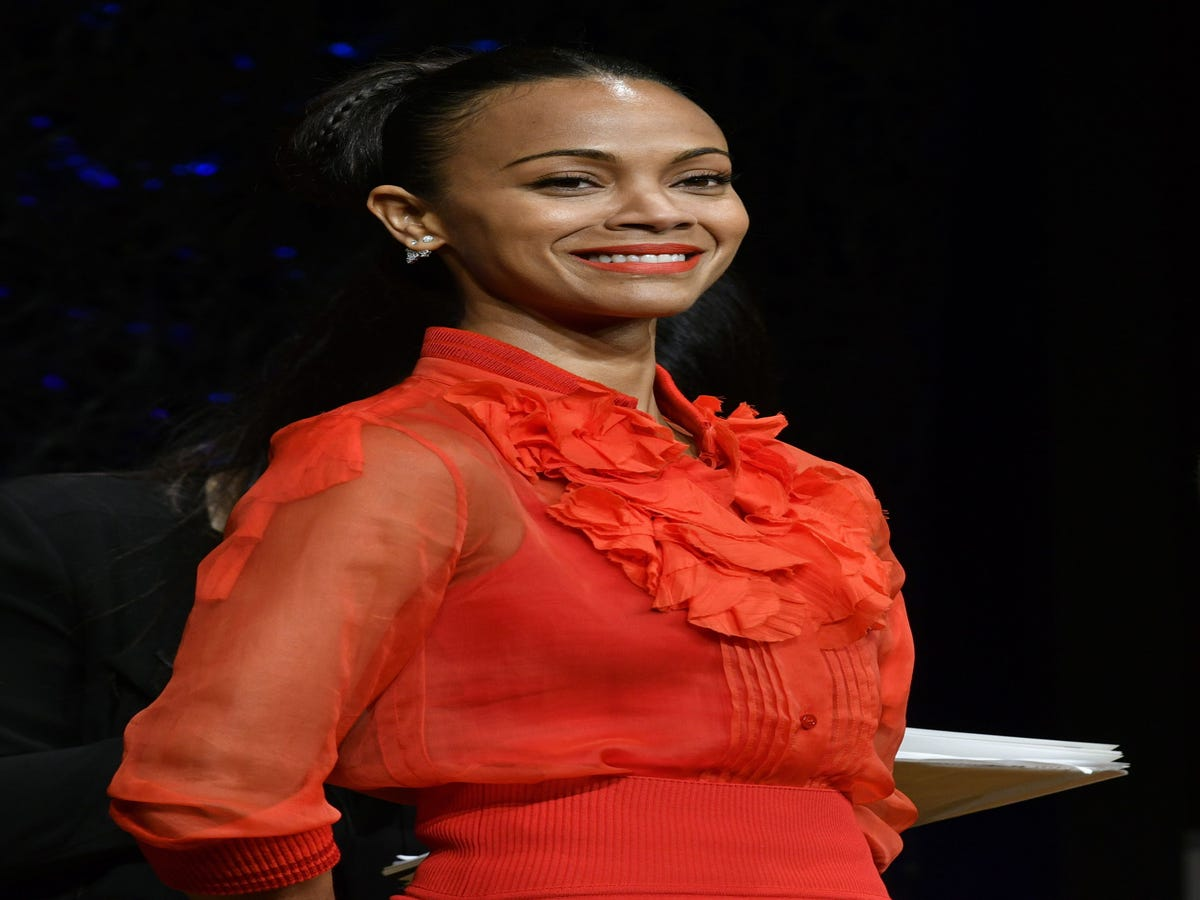 Zoe Saldana Uses Guardians Of The Galaxy To Her Parenting Advantage