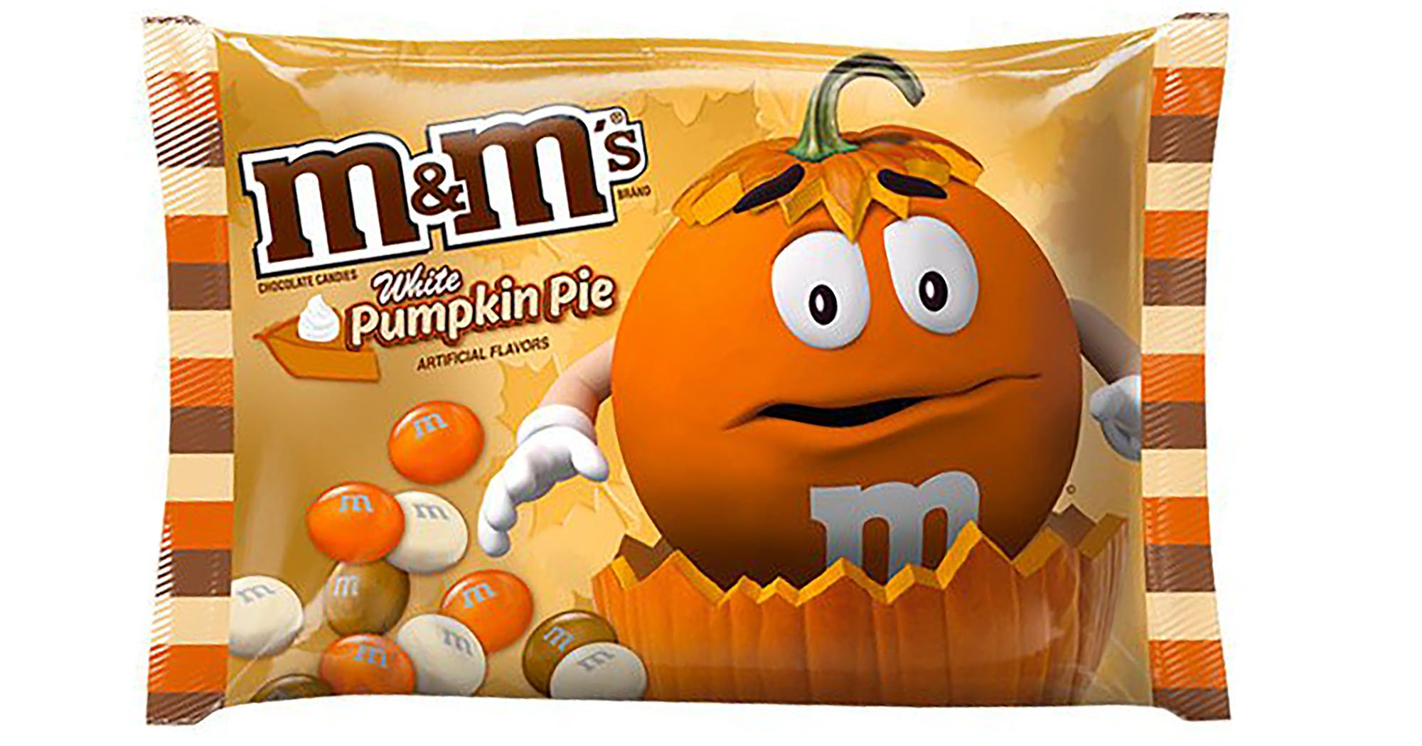 white chocolate pumpkin pie mms halloween 2017