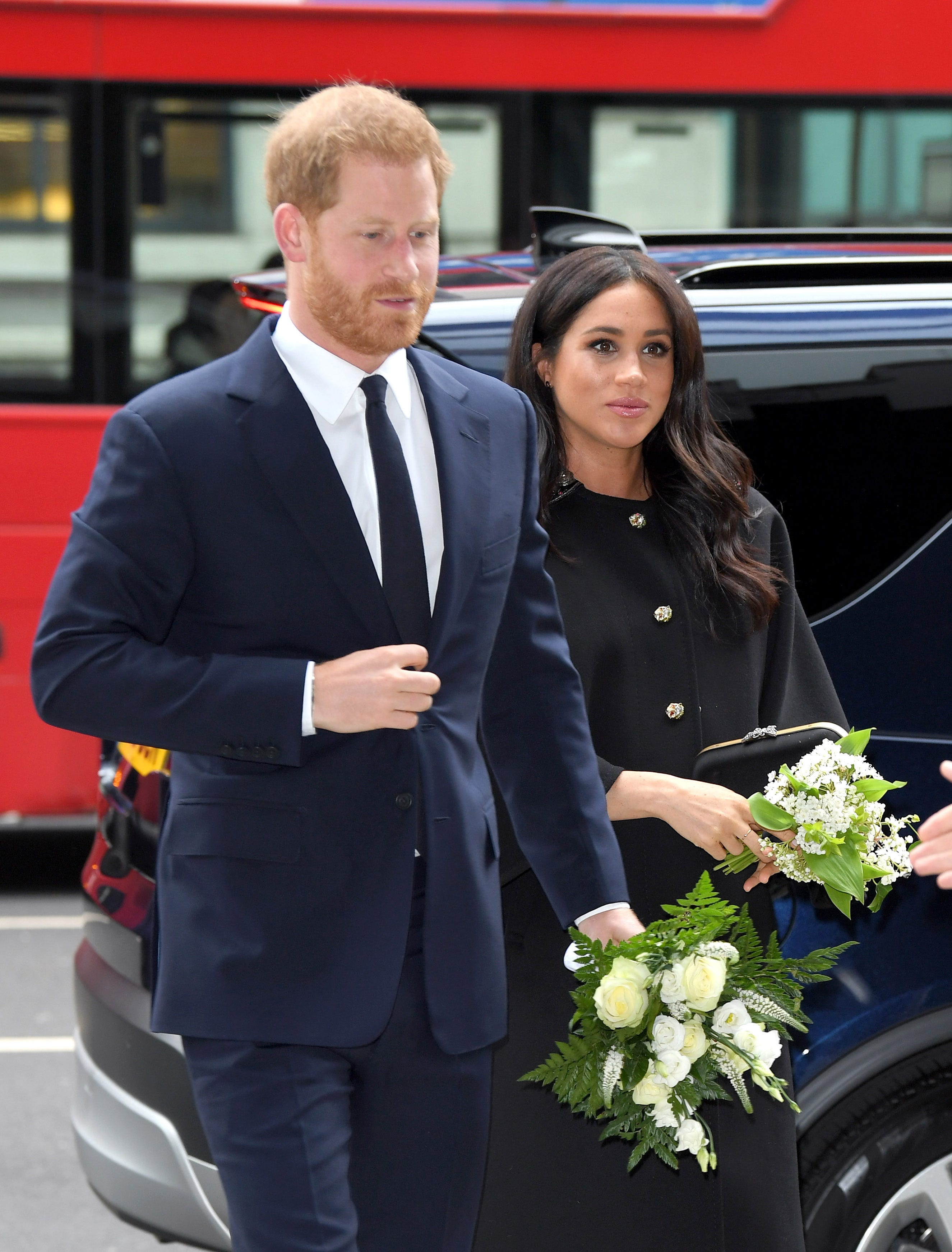 An Ambulance Was Spotted Near Meghan Markle & Prince Harry's Home