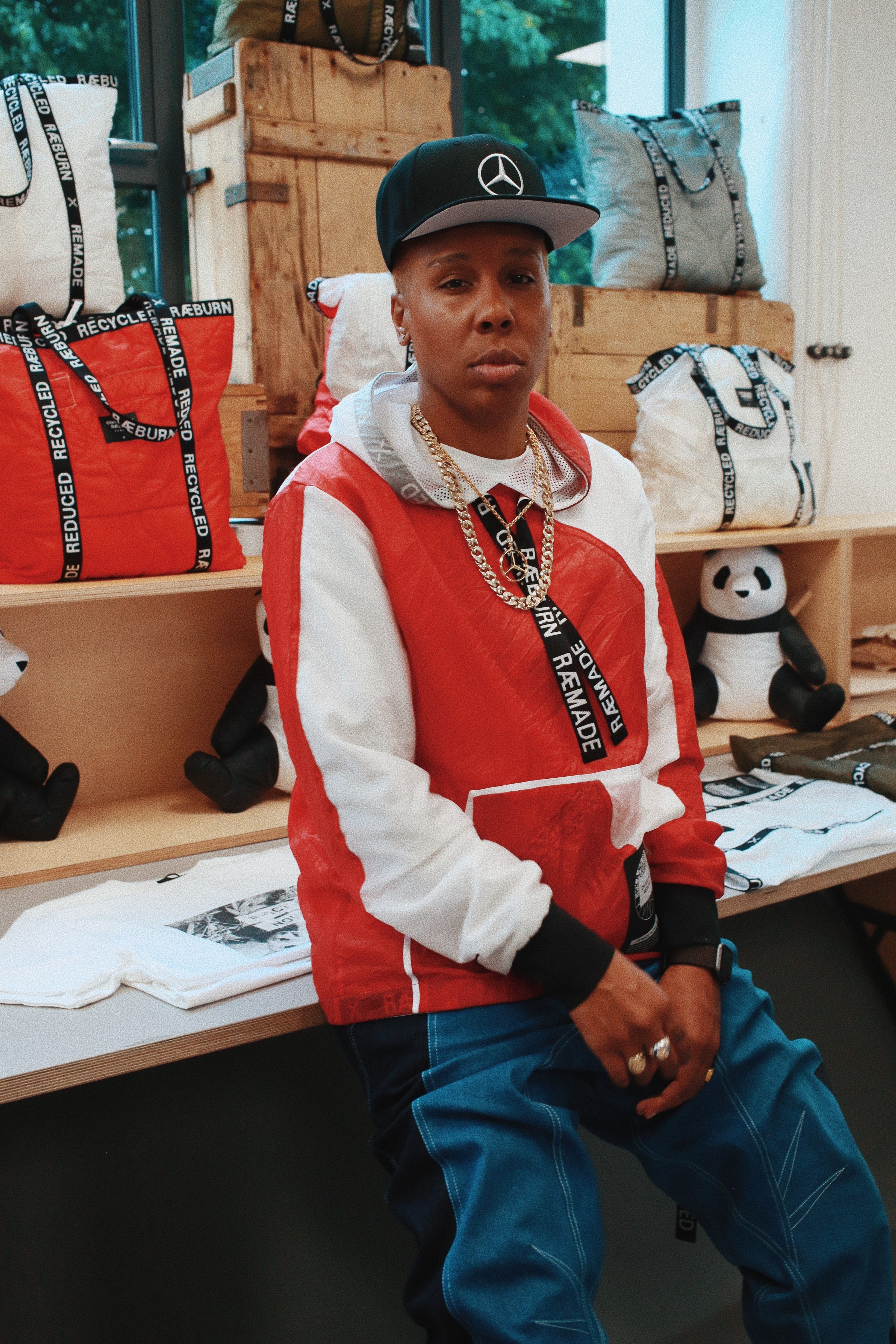 cb2e9870 Lena Waithe On Vintage Tees, Queer Designers & Sharing Clothes With Her  Fiancée