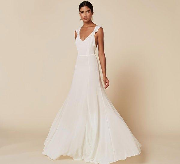 Reformation wedding dress affordable wedding dresses junglespirit Image collections