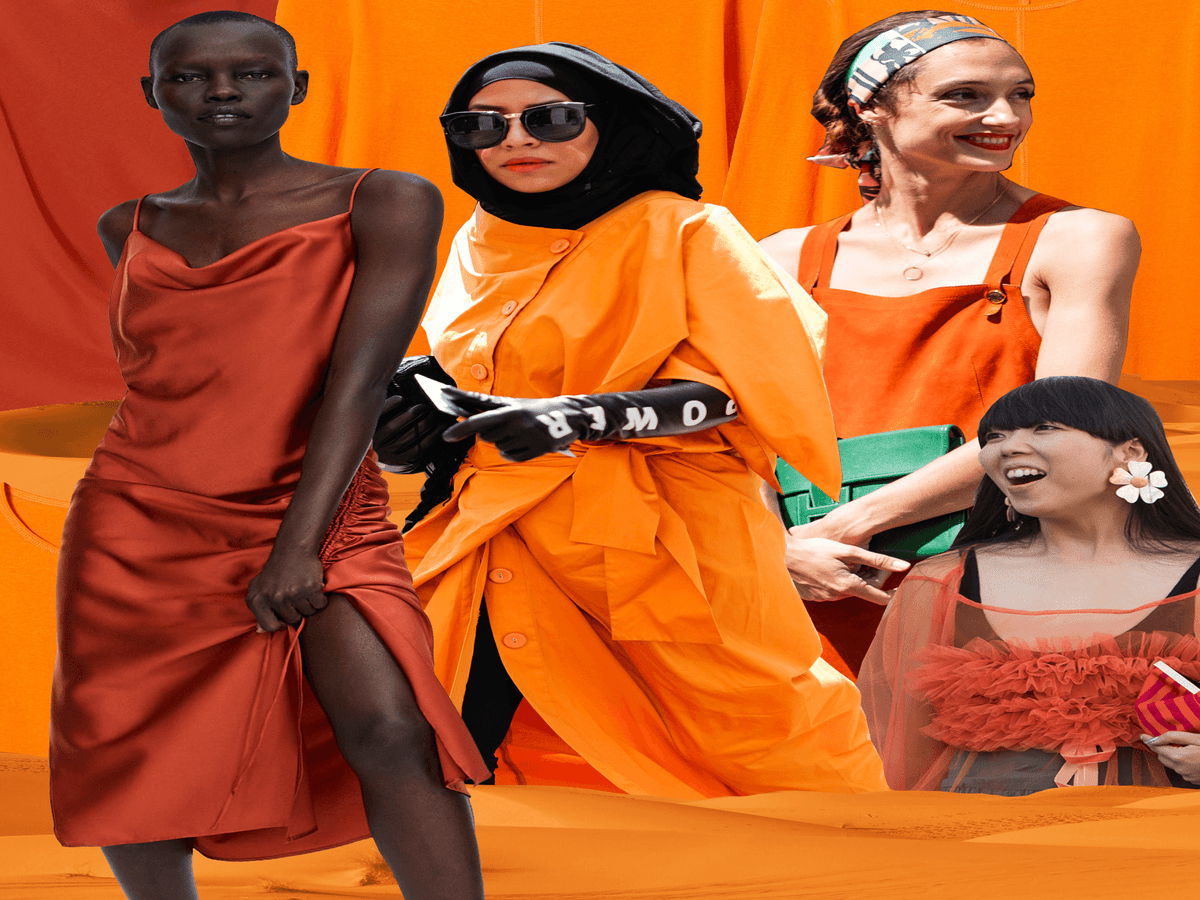 Orange Really Is The New Black (& Here s How To Wear It)