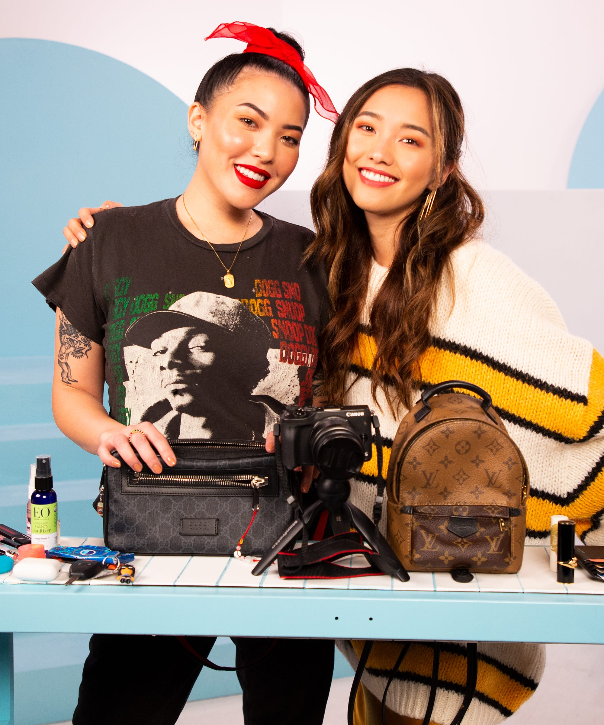 These BFF Influencers Prove You Can Fit A LOT In Small Purses
