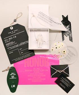 New York Fashion Week Invites
