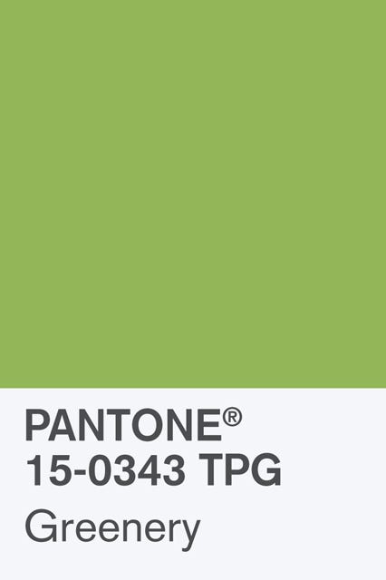 Bekend Pantone 2017 Color Of The Year - Grenery Shade Photos #LK25