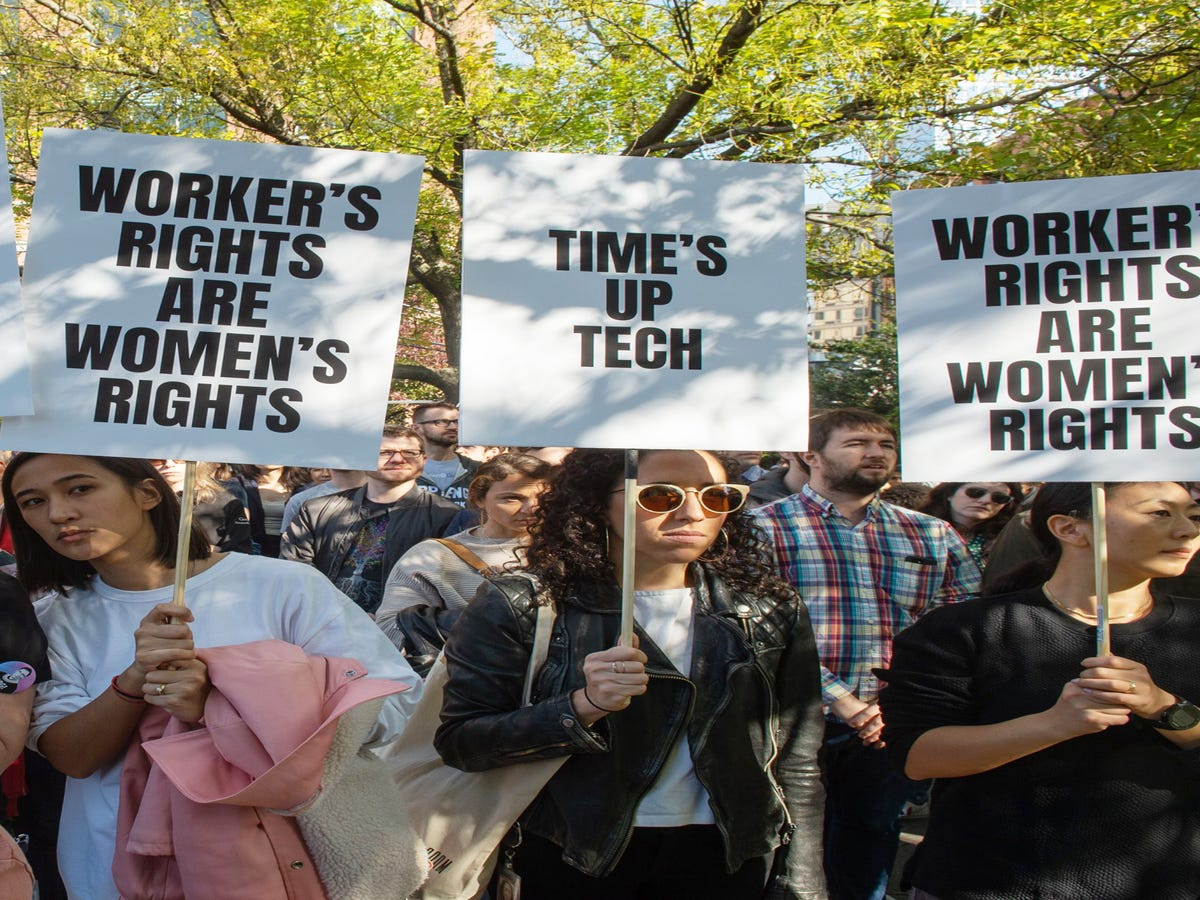 Time Is Up!  What Google s New York Workers Have To Say About Their Worldwide Walkout