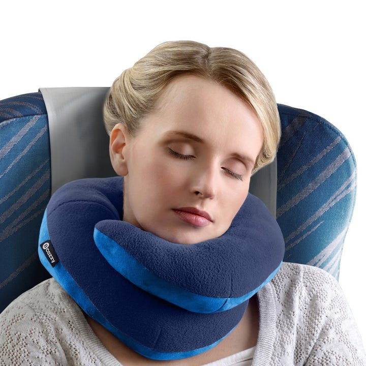 This Wrap Around Pillow Has A Special Design That Offers Full Support For Your Neck And Chin