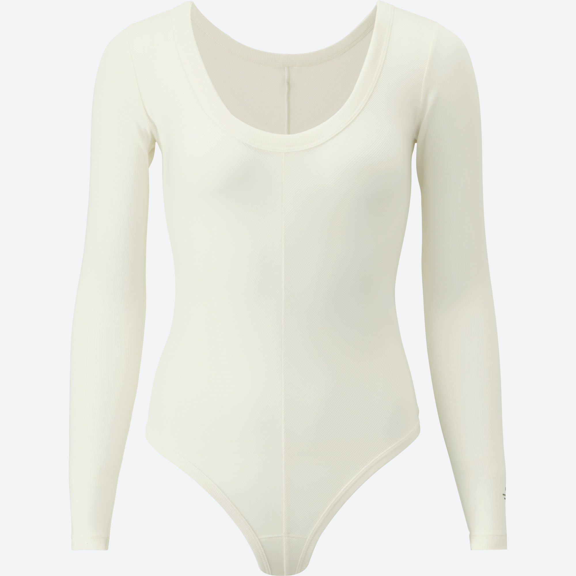 a0af79db67 Uniqlo x Alexander Wang. Heattech Ribbed Long-sleeve Bodysuit