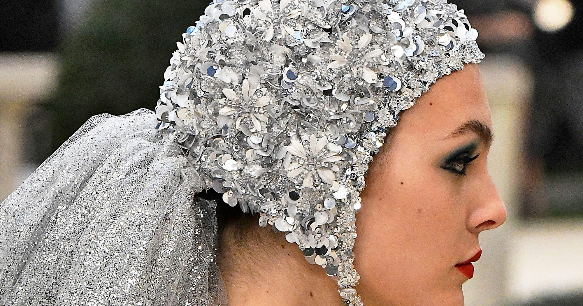 The Chicest Trend At Couture Fashion Week? Swimming Caps