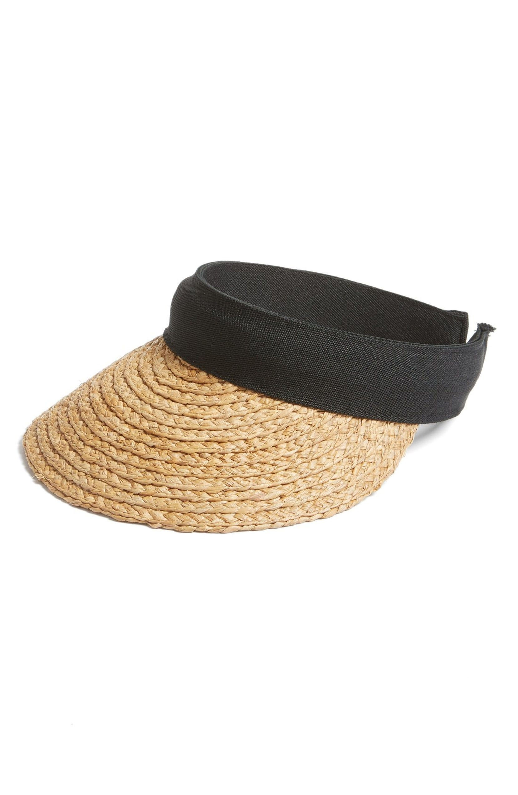 cb6763f30cf Straw Visors Are The New Summer Essential To Pack