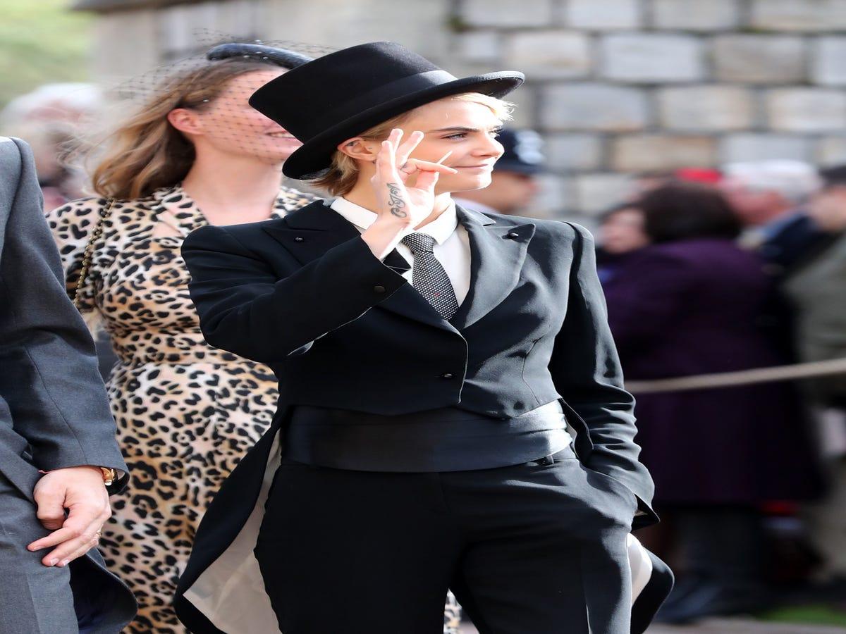 Did Cara Delevingne Break Royal Wedding Protocol?