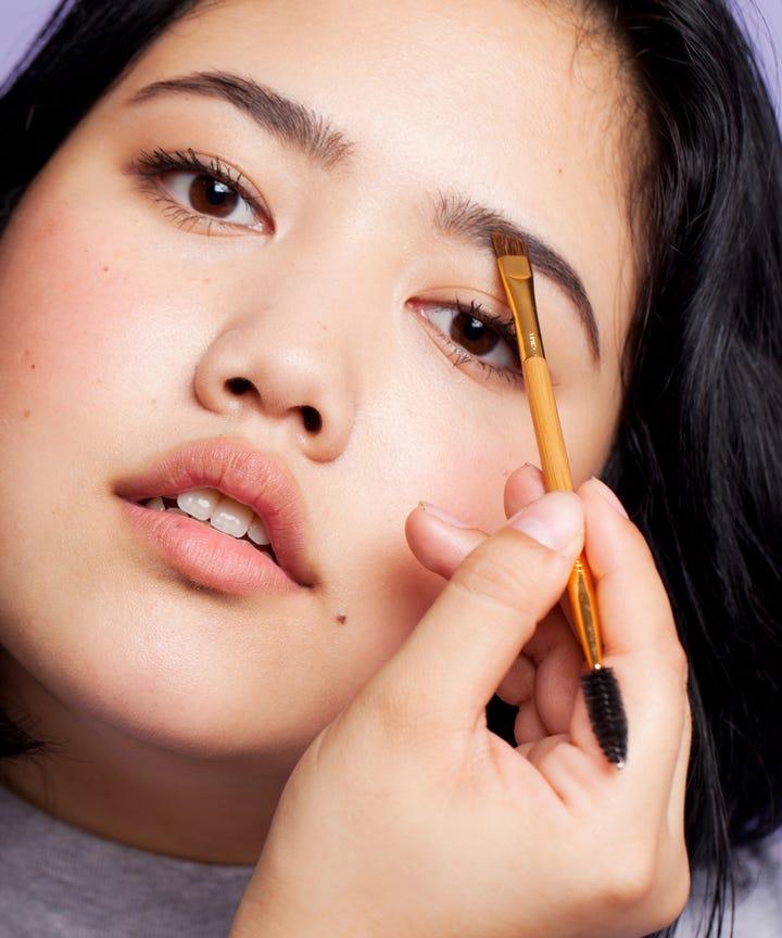Halloween Eyebrow Makeup Instagram Trends