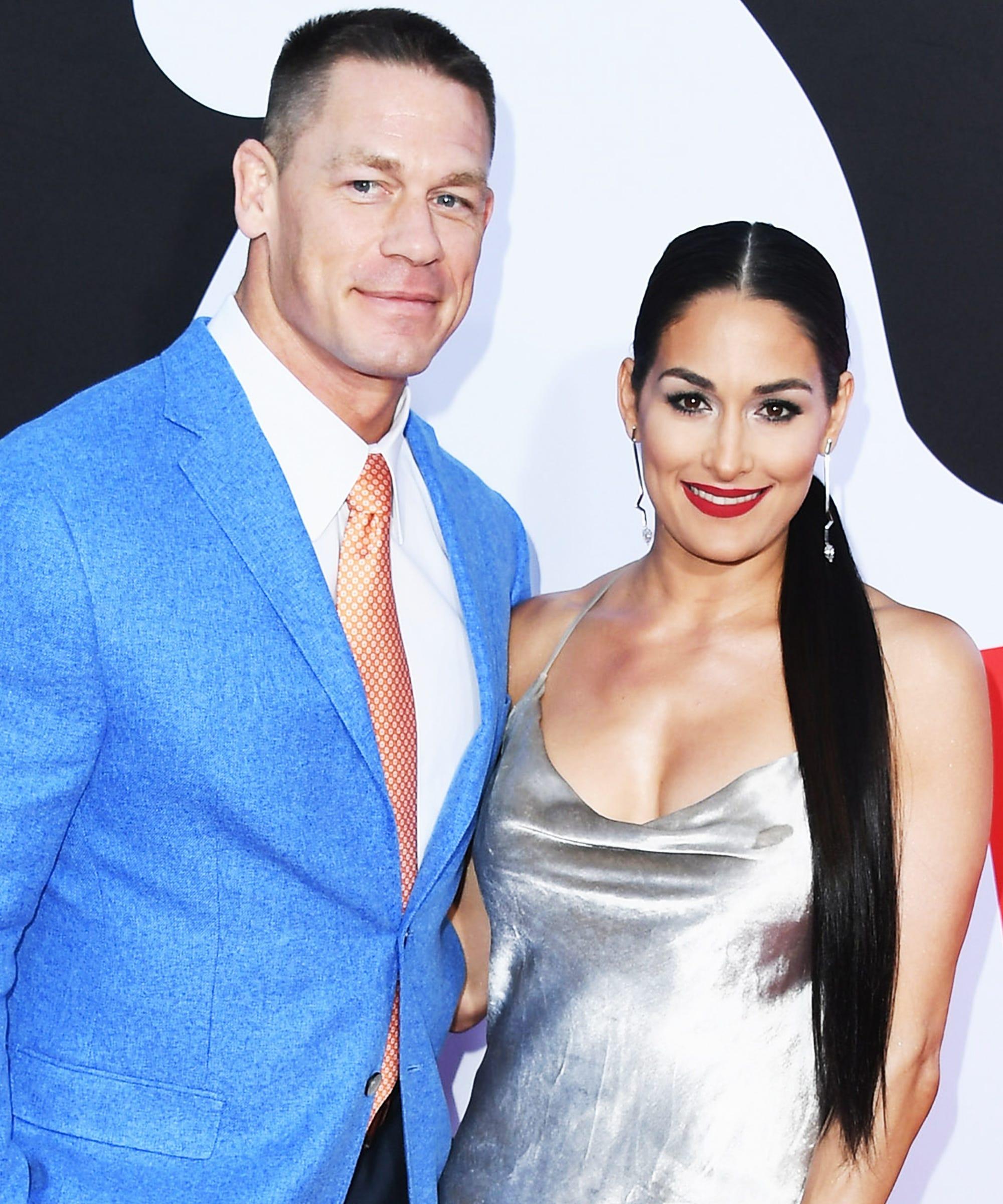 John Cena And Nikki Bella Show Breakup On Reality Show