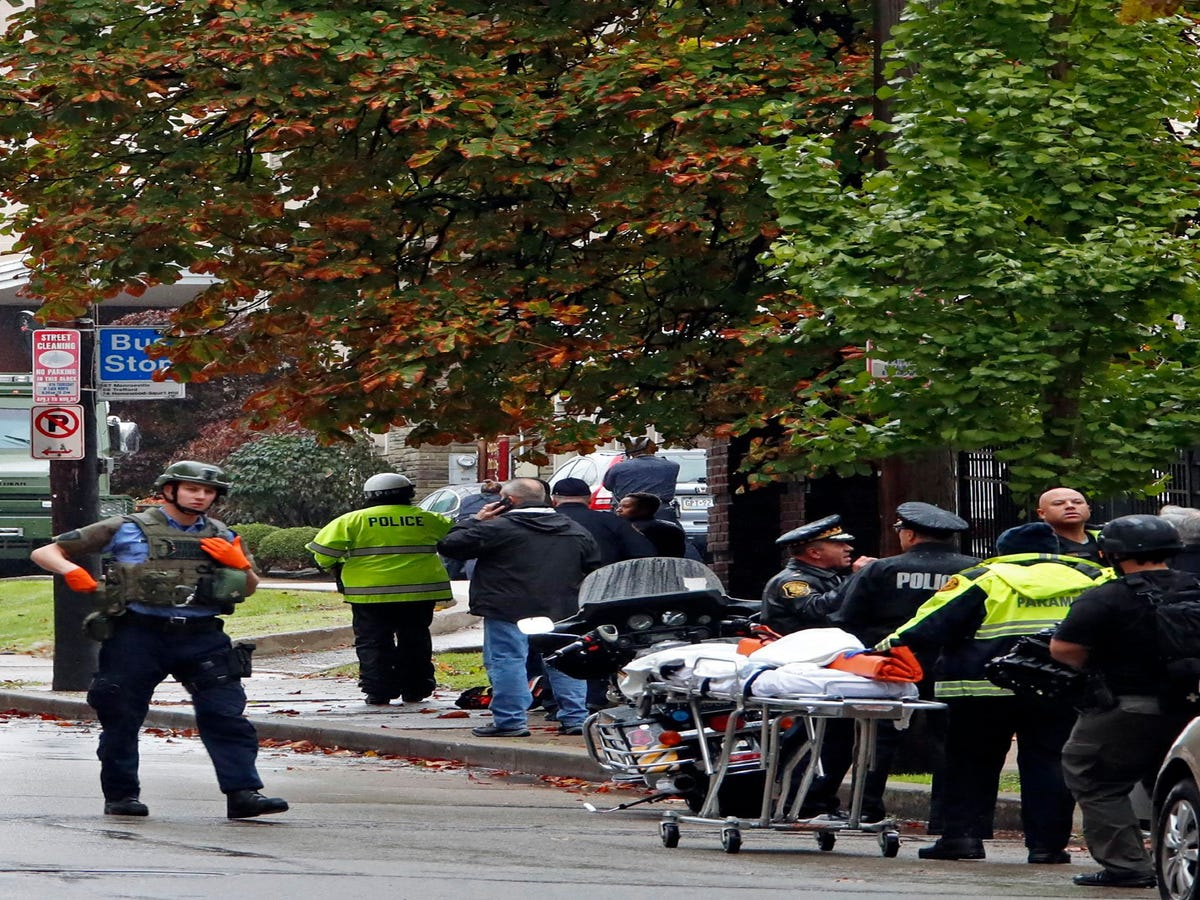 Multiple Casualties In Pittsburgh Synagogue Shooting