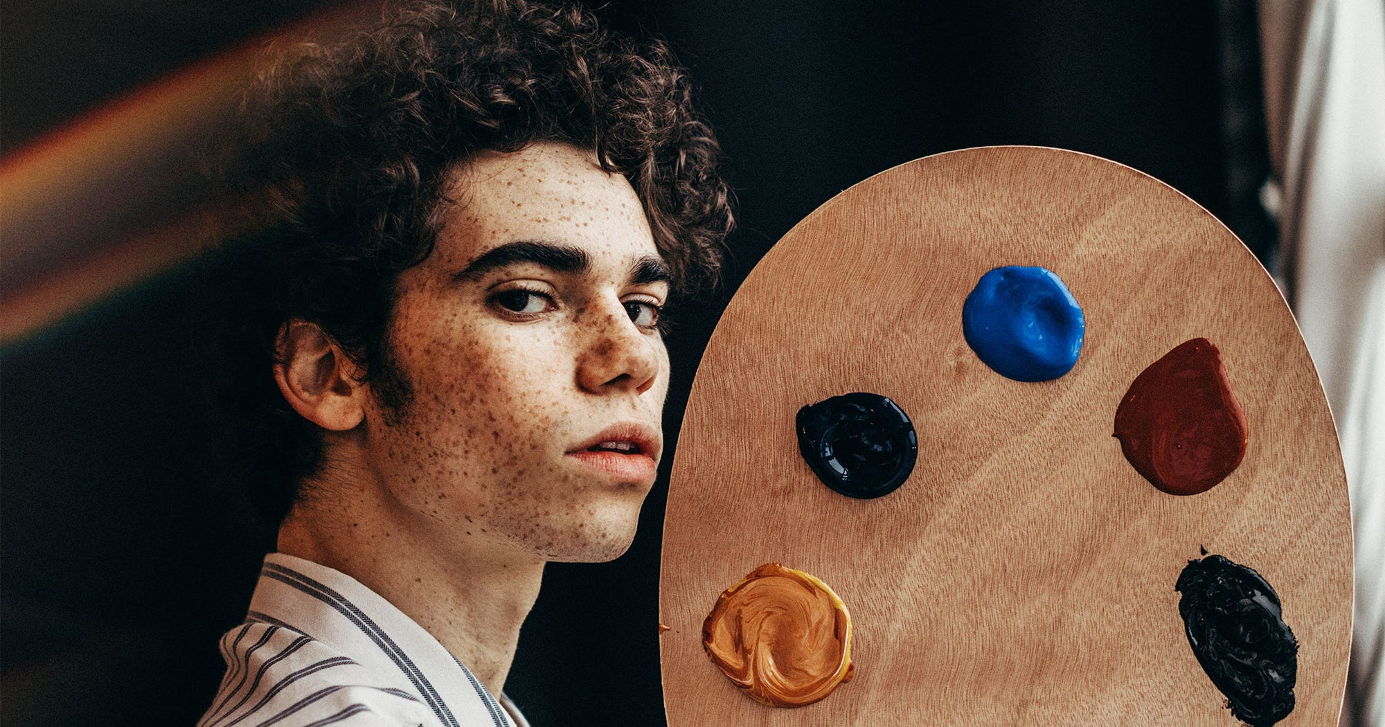 Cameron Boyce's Final Project Asks Us To Wield Peace, Not Guns