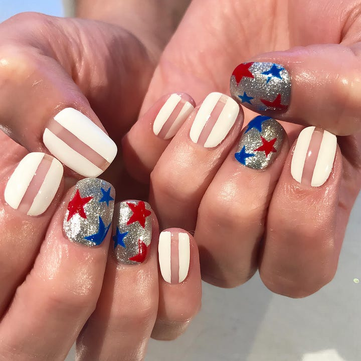 July 4th Nail Art Trends Instagram Photo Inspiration