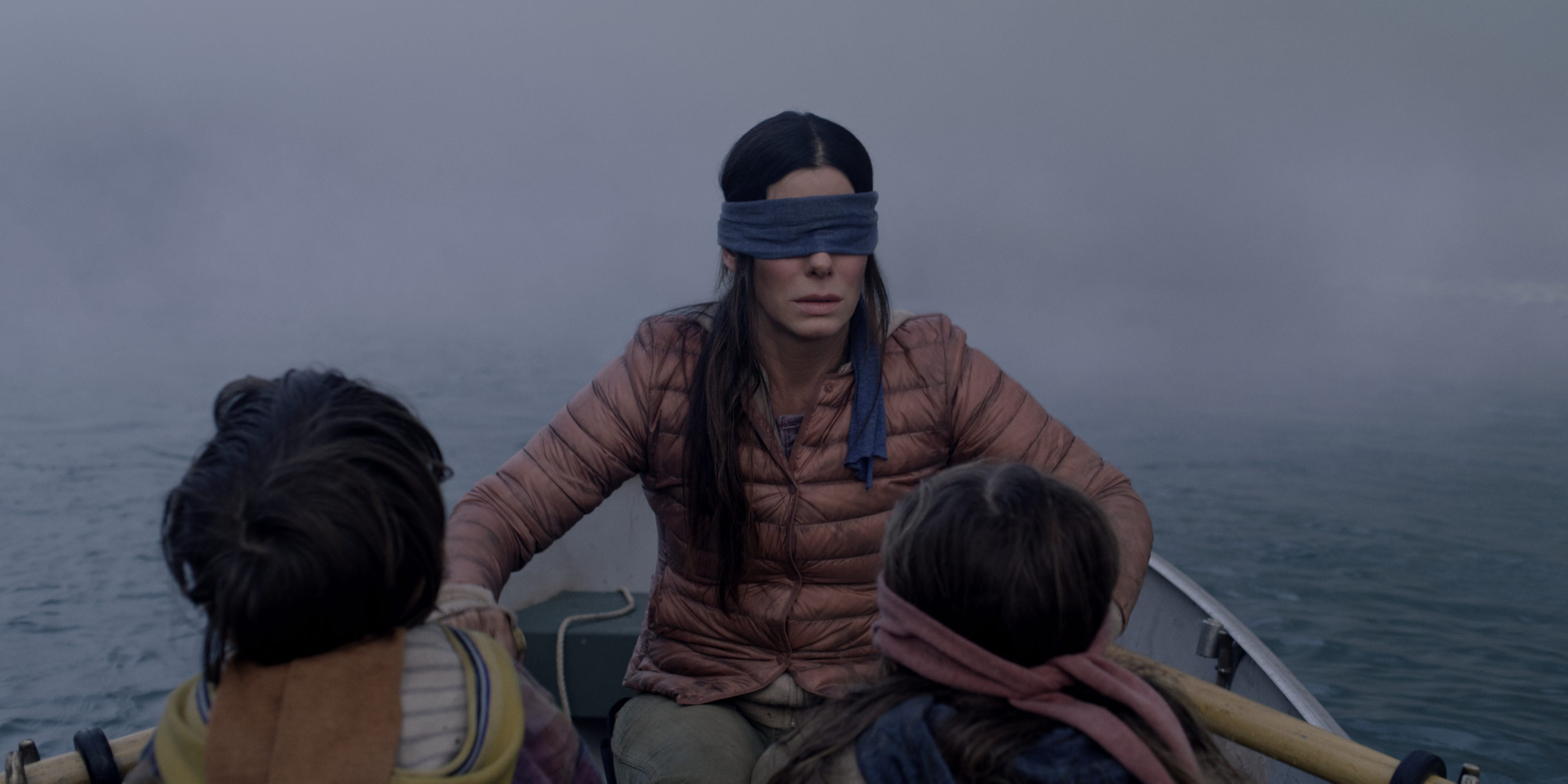 Bird Box Movie Cast Features A Terrified Sandra Bullock