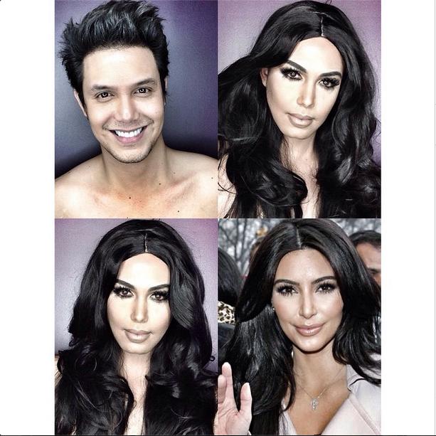 Makeup Transformations - Paolo Ballesteros Instagram
