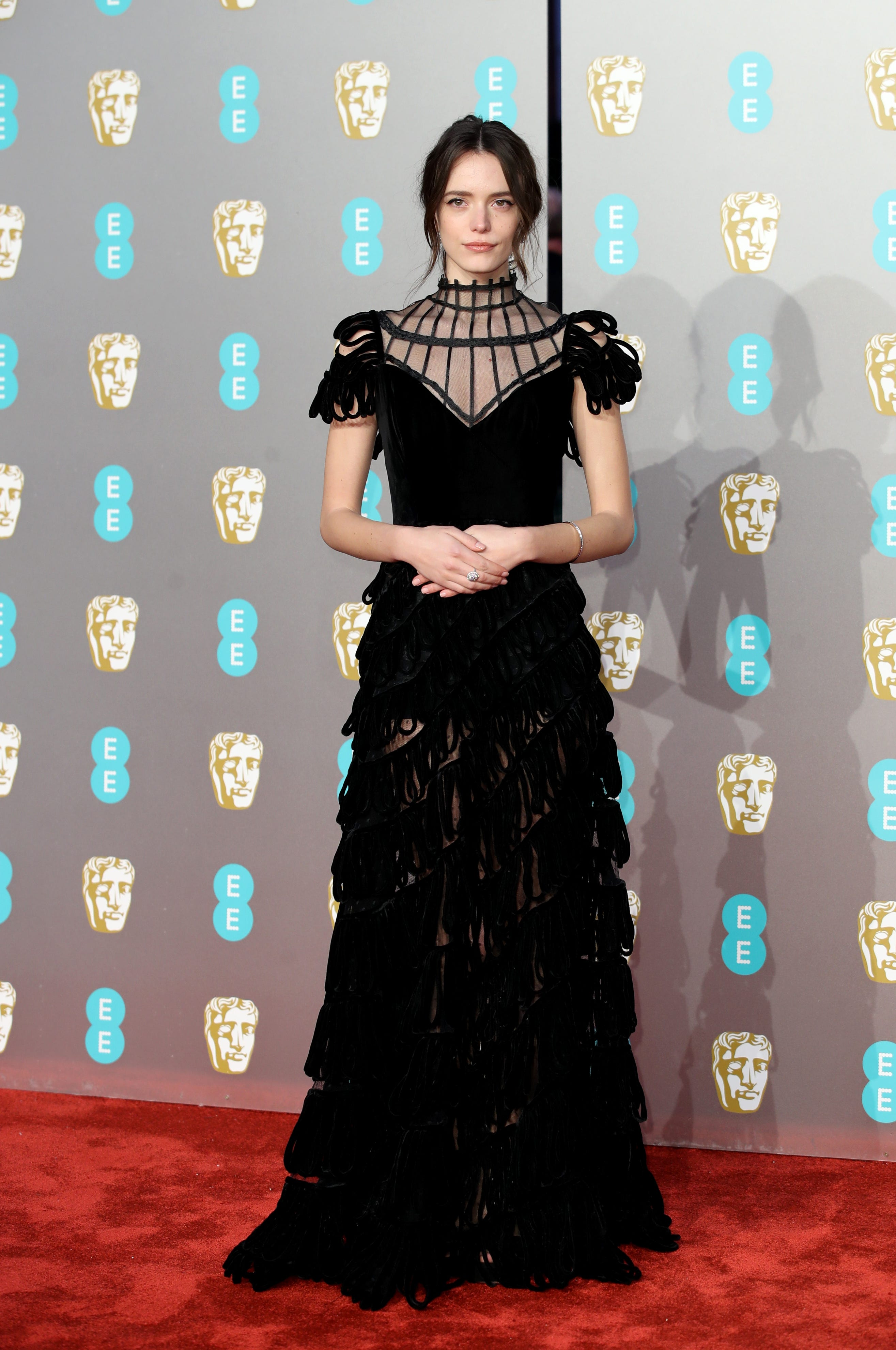 The Standout Looks From This Year s BAFTAs Red Carpet