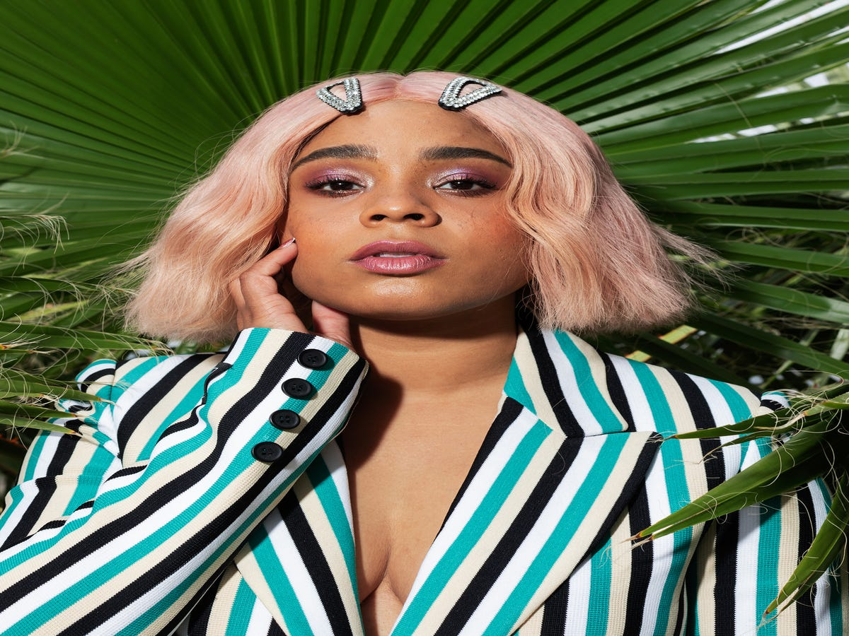 Tayla Parx On Glitter, Wigs, & What It Means To Be Feminine