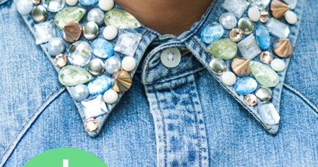 Jewels + Denim = Your Perfect Fall DIY