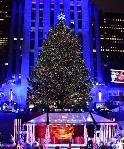 You Can Stream The Rockefeller Center Christmas Tree Lighting Tonight