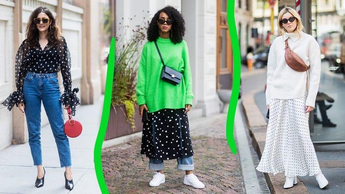73536b83f Cute Ways To Wear The Polka Dot Trend Winter 2018