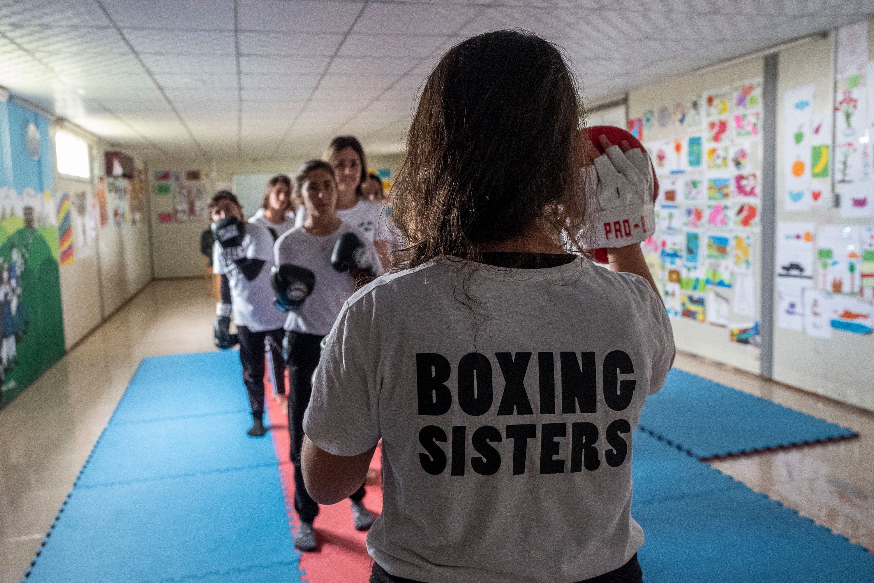 The 18-Year-Old Teaching Refugee Women How To Fight For Their Lives