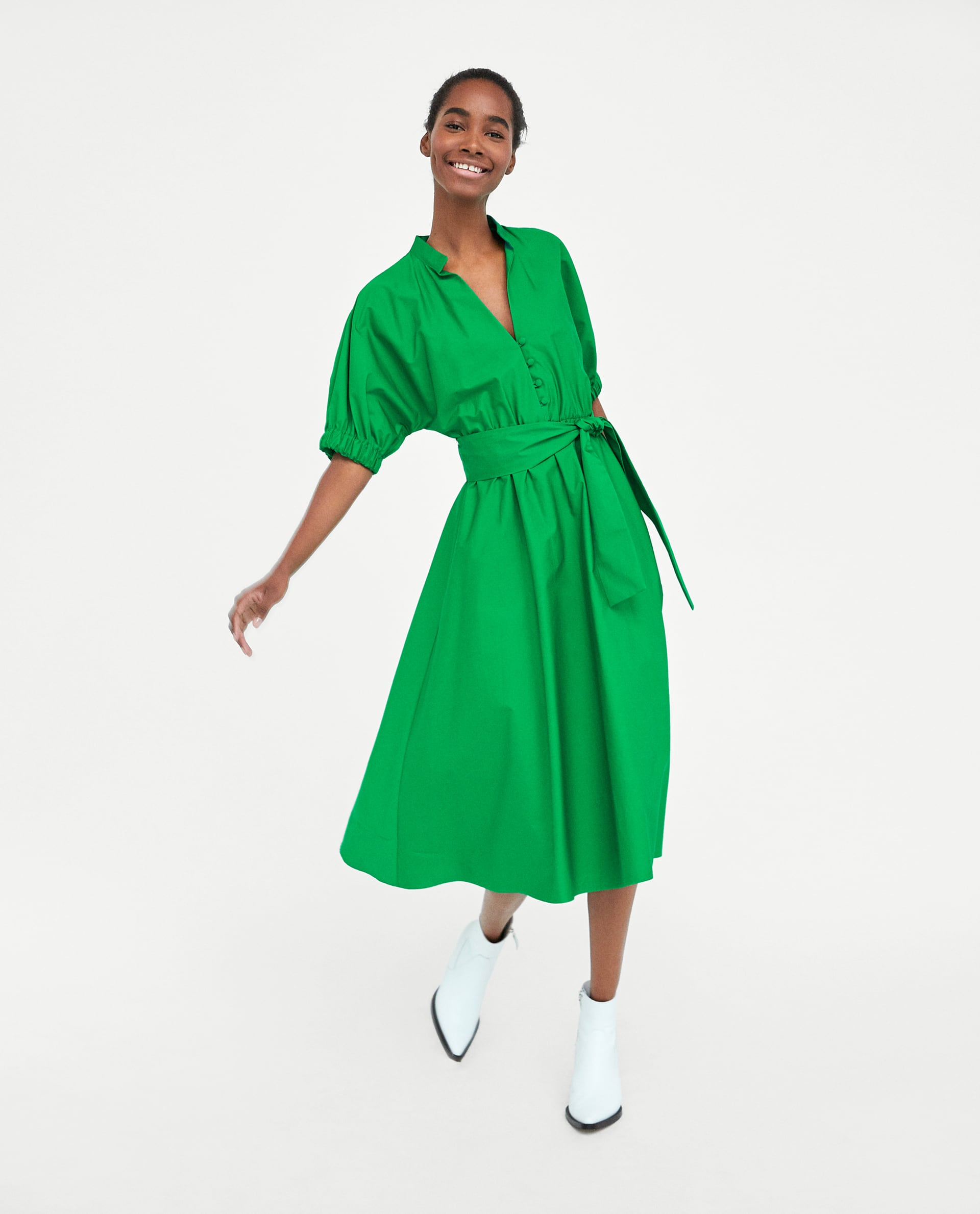 df57e94e Zara Midi Dress Trend Dresses For Women
