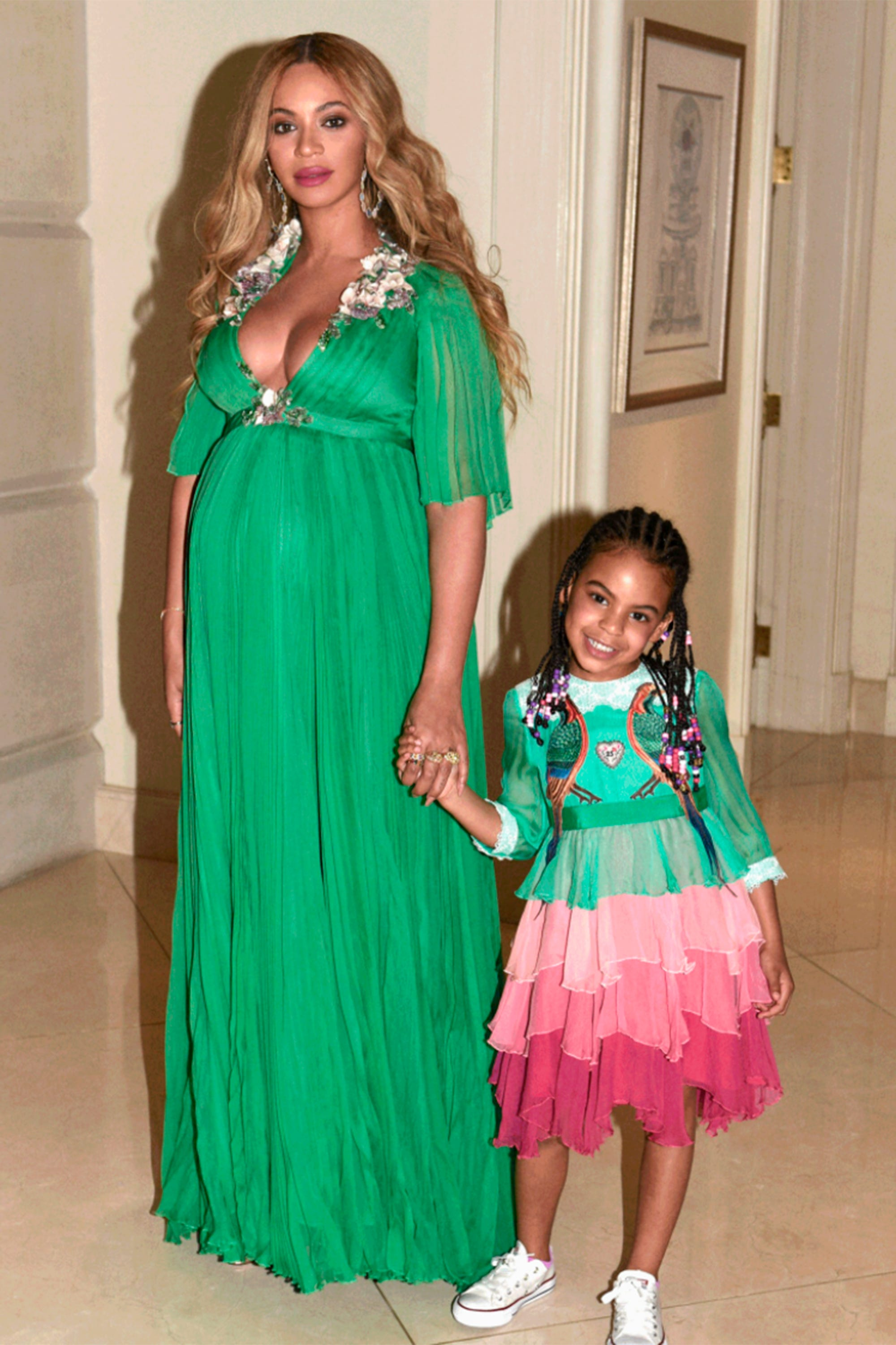 9e12774500d Did Blue Ivy's Dress Officially Crown Her As A Fashion Girl?