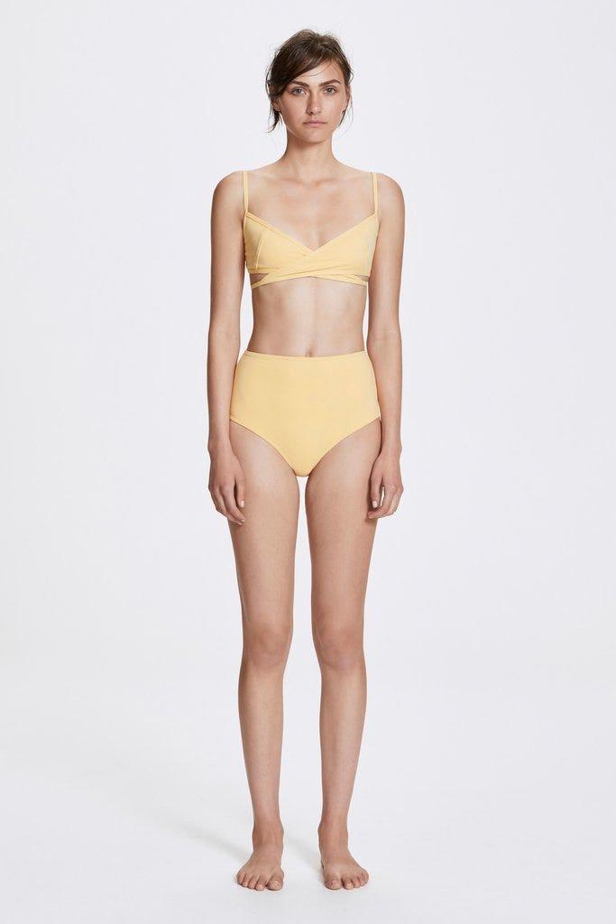 800b82d6c3719 Eres Full-cup Triangle Bikini Top and High-Waisted Bikini Briefs