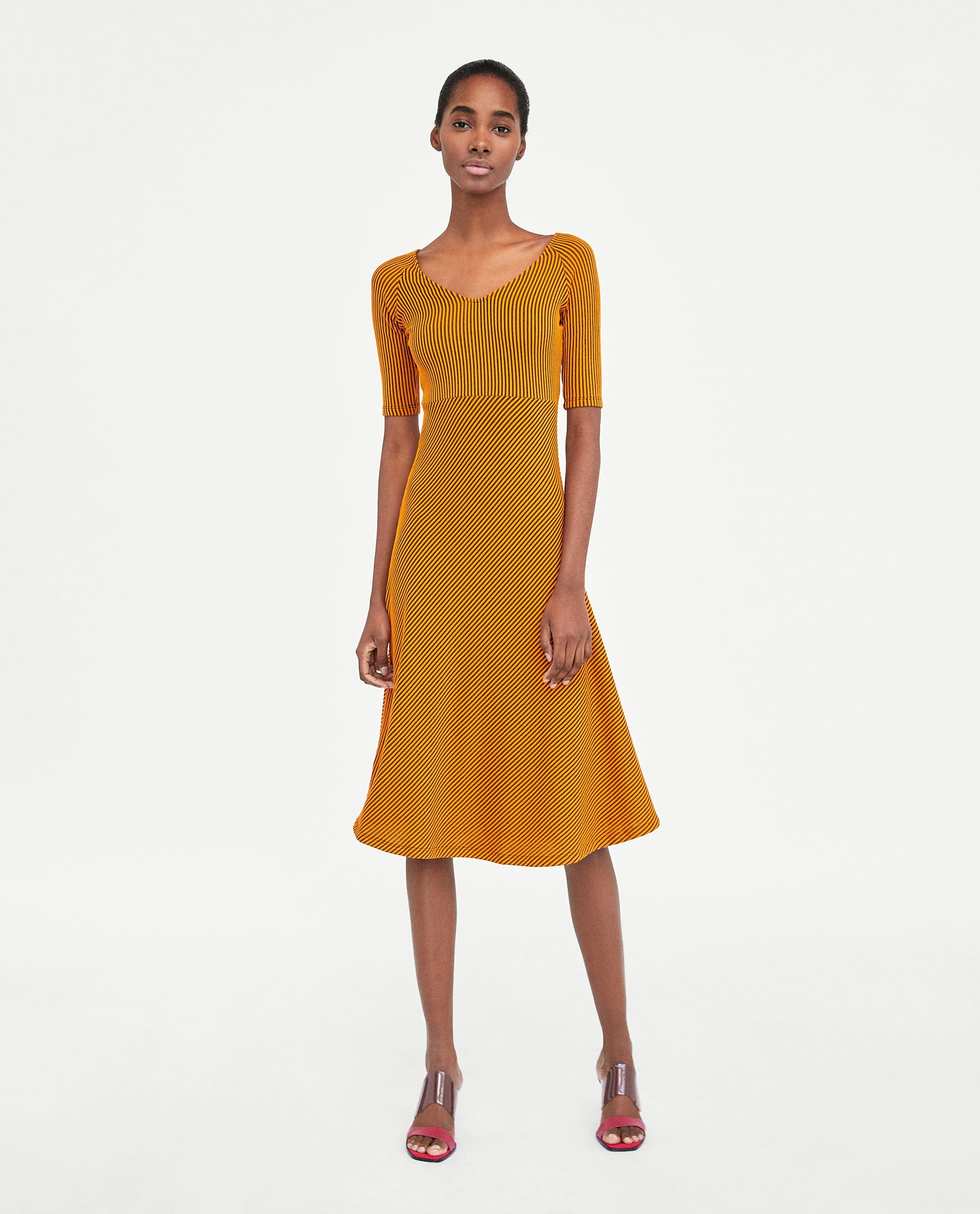 aac148881a24 Zara Midi Dress Trend Dresses For Women