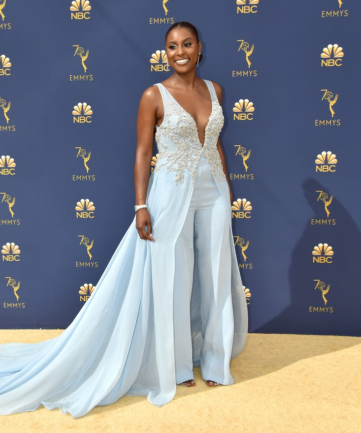 2018 Emmys Best Dressed Celebrity Photos On Red Carpet