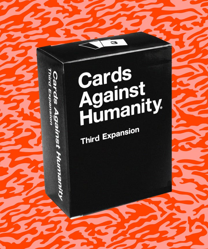 Cards Against Humanity Holiday Promotion Border Wall