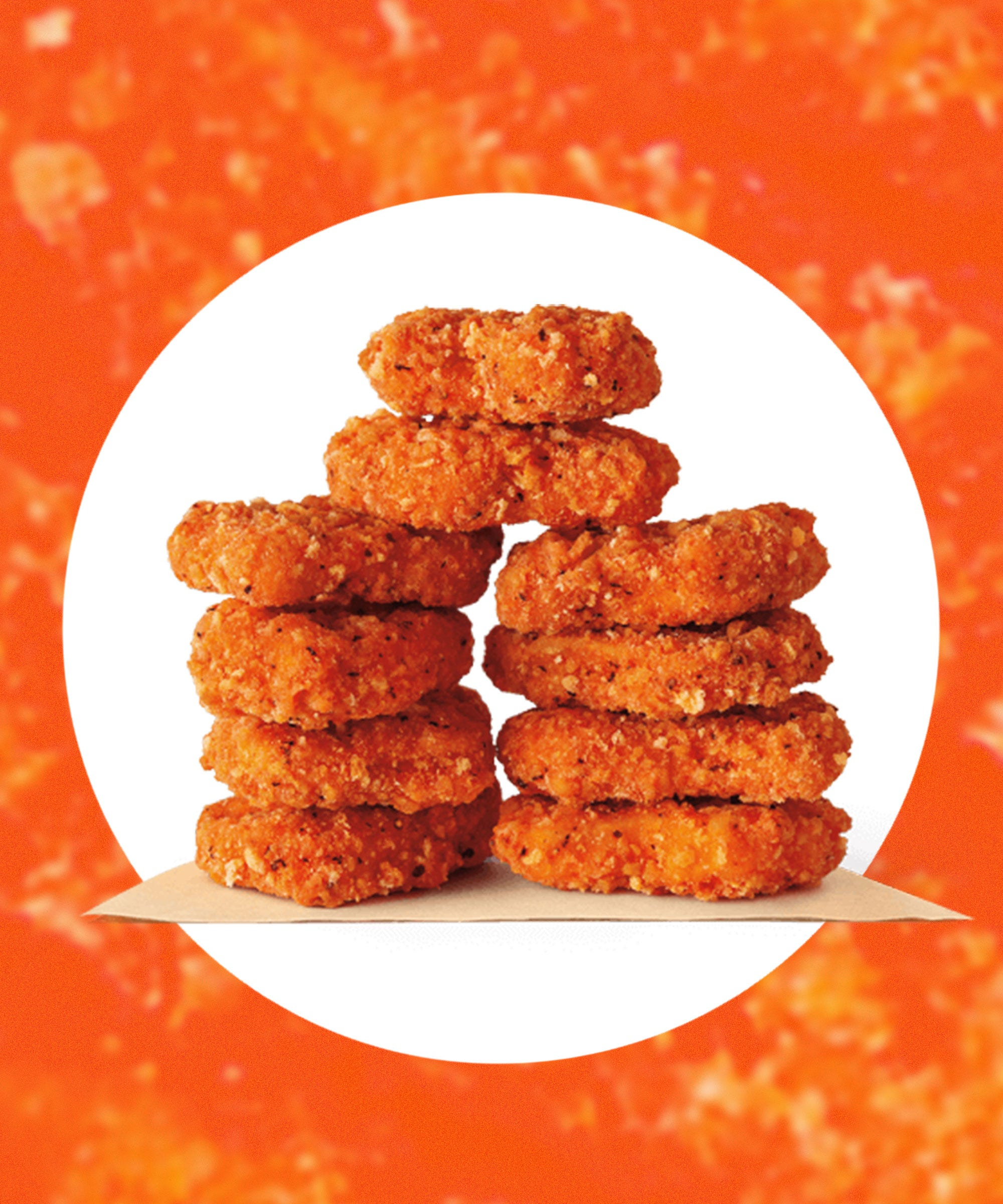 Image result for wendy's spicy chicken nuggets