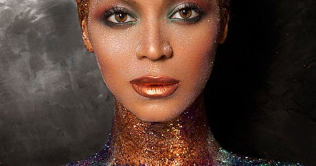 Beyoncé Got Naked And Doused In Glitter And We're OBSESSED
