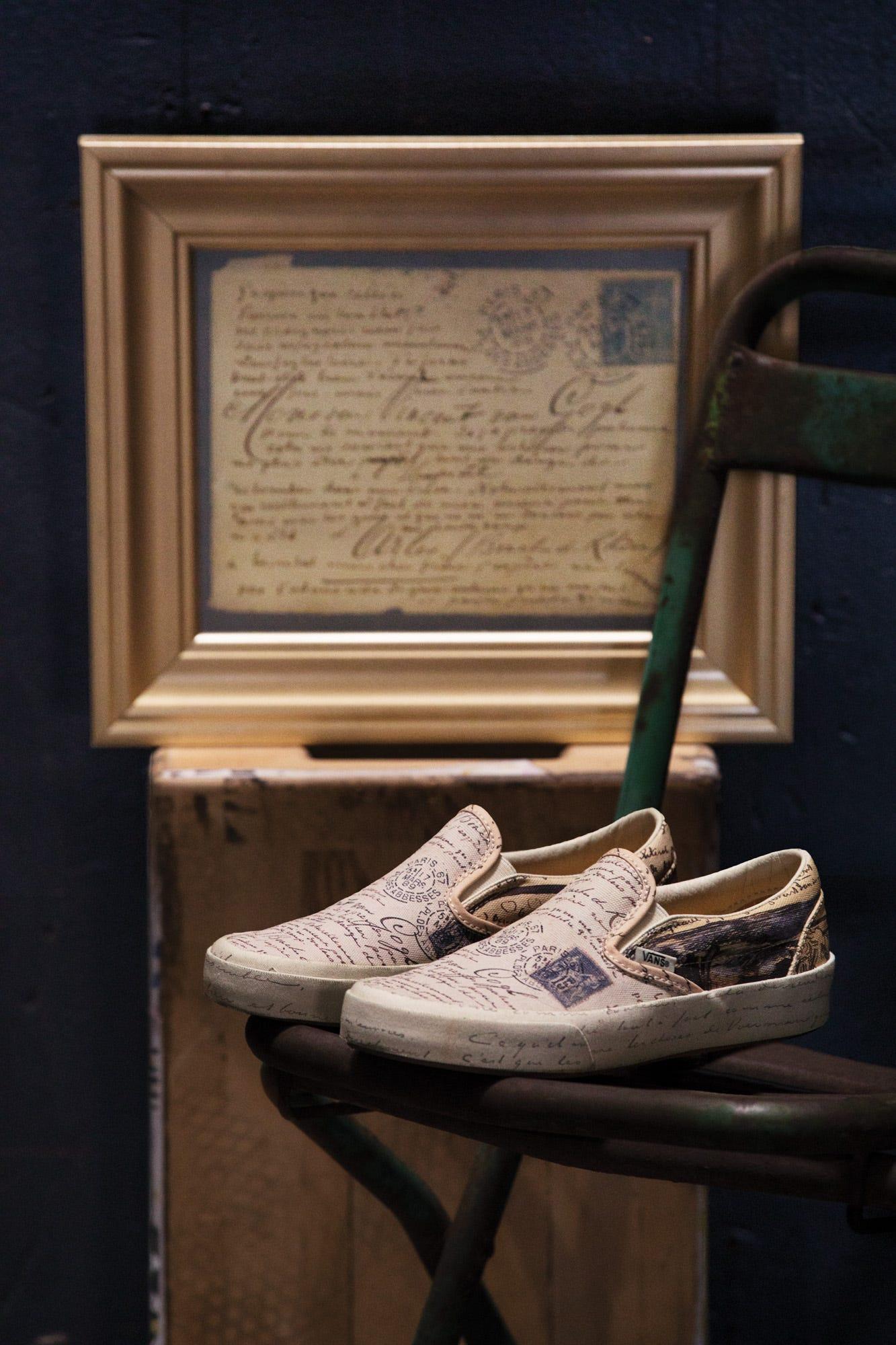 d681e4ce5649 Vans x Van Gogh Sneaker   Clothing Collab Is Pure Art