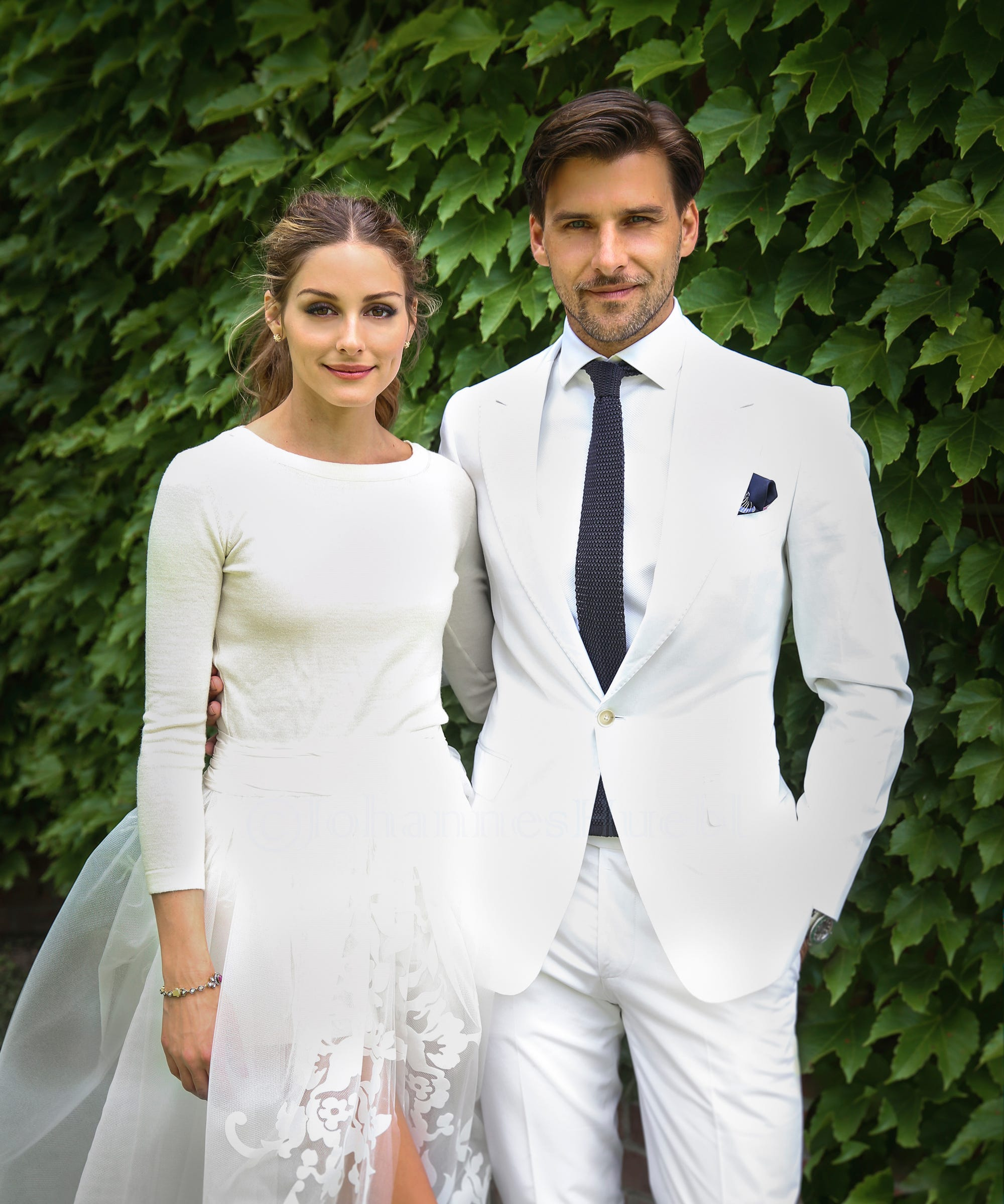 Kristen Bell Wedding Photos Celebrity Dresses