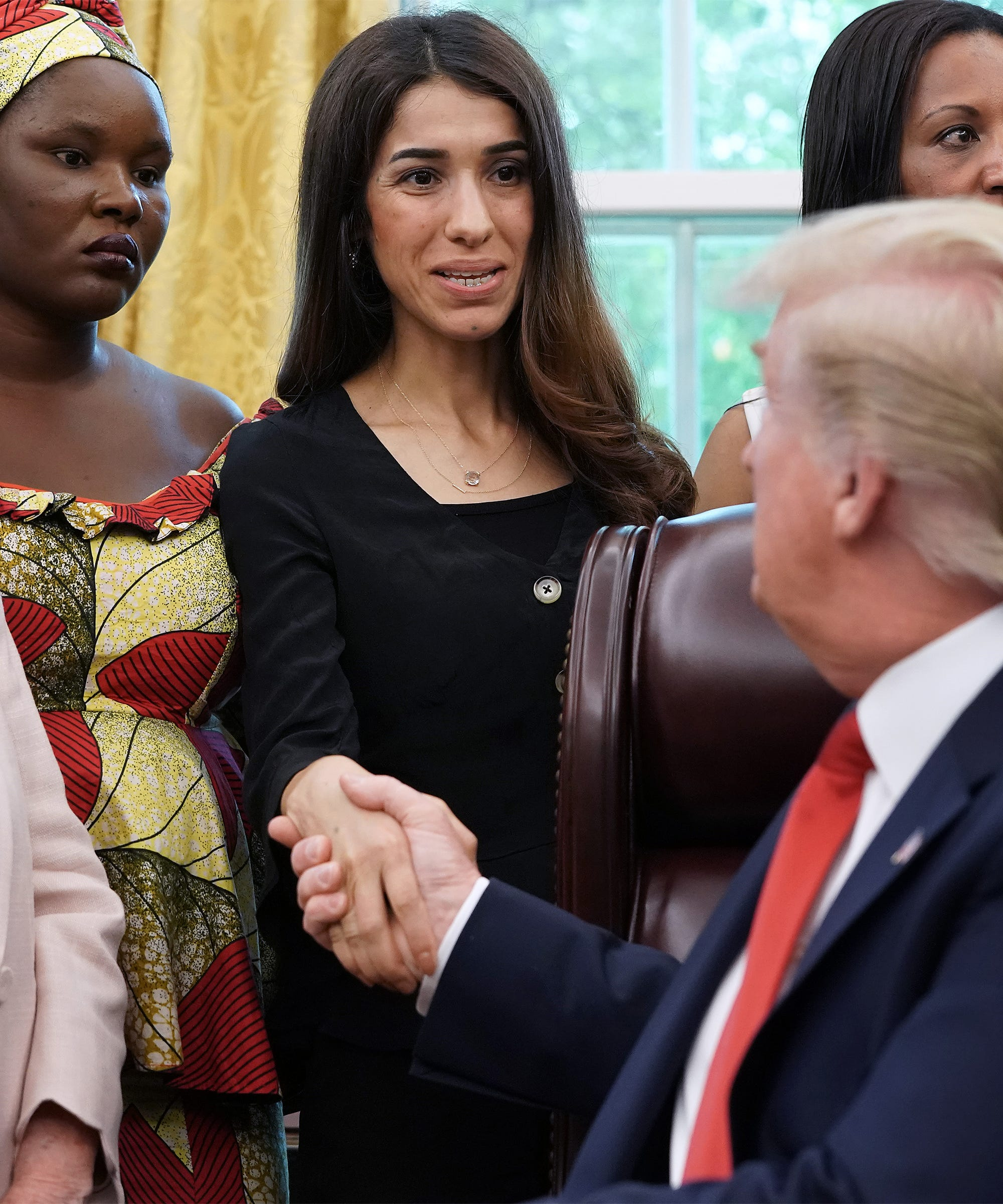 Trump Faces Backlash For Asking Activist Nadia Murad Why She Won The Nobel Peace Prize