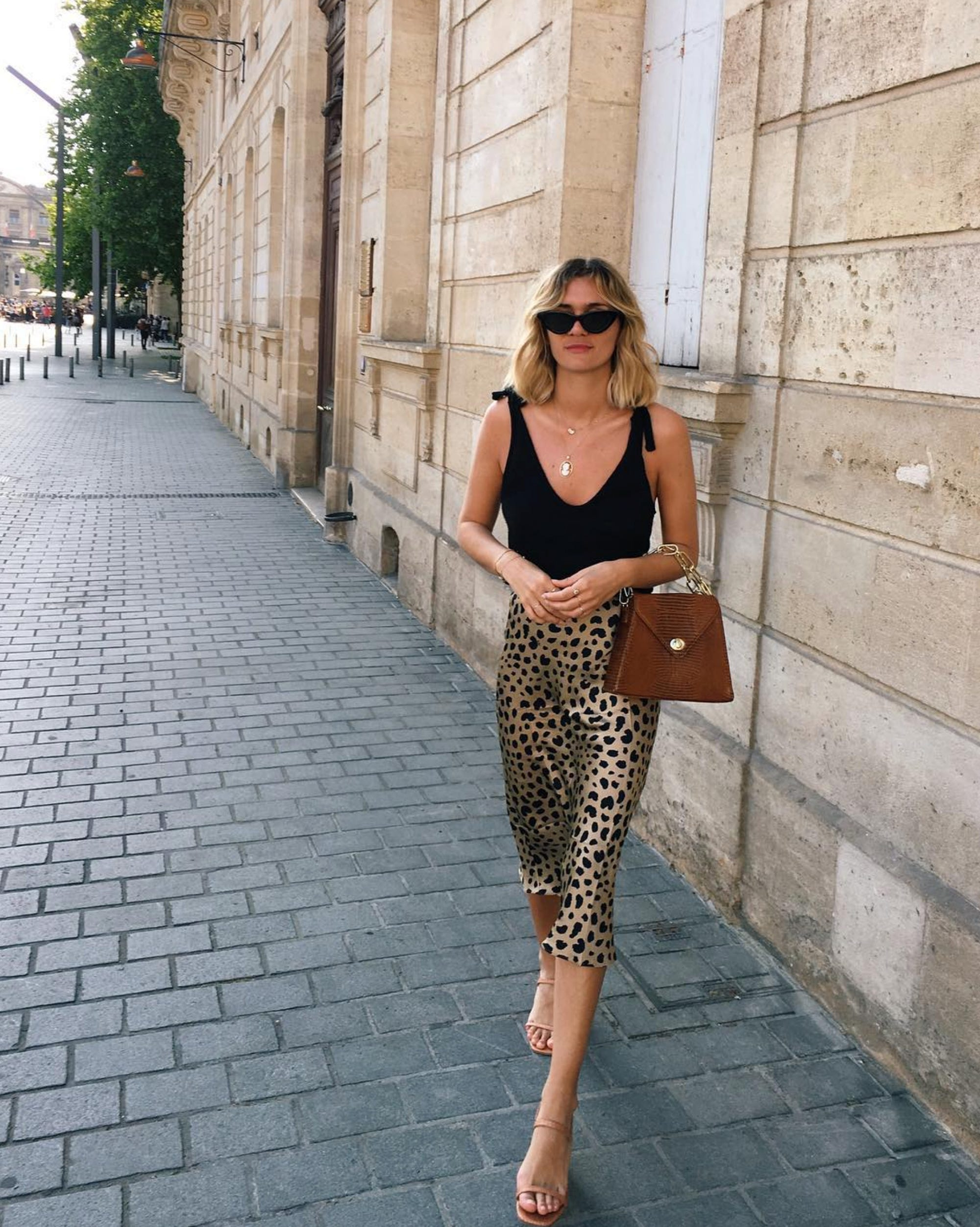The Leopard Print Midi Obsession Is Real - & This New Insta Account Proves It