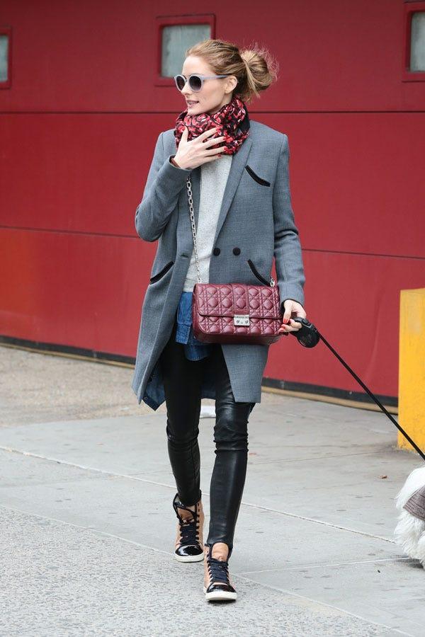 Olivia palermo street style casual dress